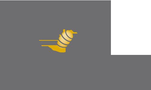 TwoBees reclame Retina Logo